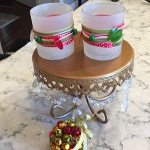 Other - Votive  Christmas candle holders